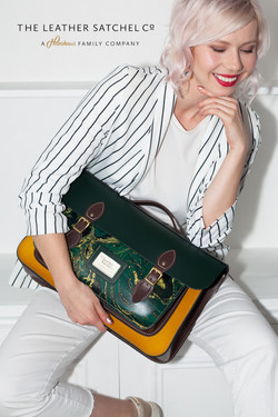 Photo campaign for The Leather Satchel Co.