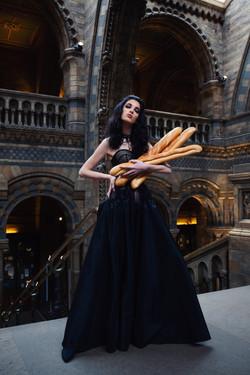 Fashion Editorial for Kulita evening wear