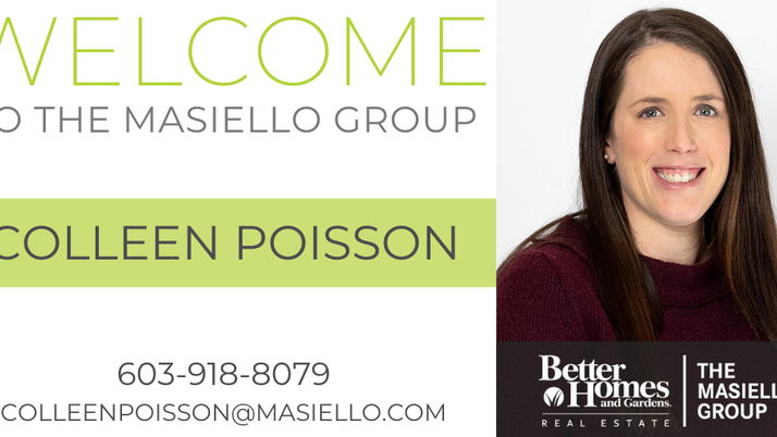 Welcome Colleen Poisson!