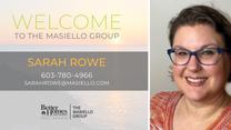 Welcome Sarah Rowe!