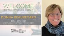 Welcome Donna Beauregard!