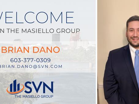 Welcome Brian Dano!