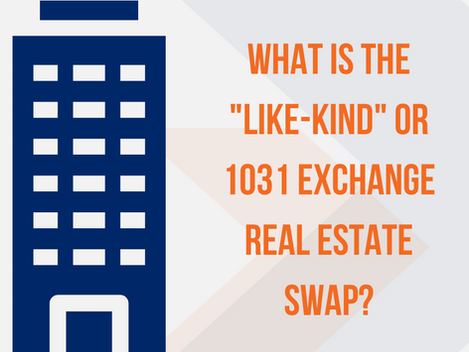 """What is the """"Like-Kind"""" or 1031 Exchange Real Estate Swap?"""