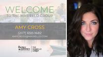 Welcome Amy Cross!