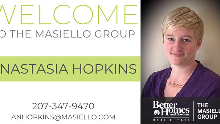 Welcome Anastasia Hopkins!