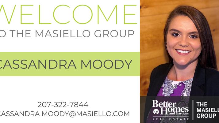 Welcome Cassandra Moody!