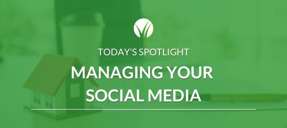 Managing Your Social Media