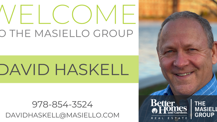 Welcome David Haskell!