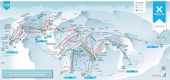 מפת סקי גרנד ולירה