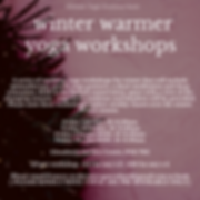 Copy of Copy of Winter Warmer Yoga Works
