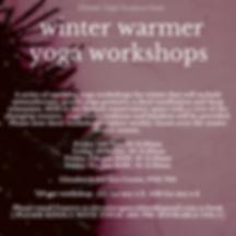Copy of Copy of Winter Warmer Yoga Works
