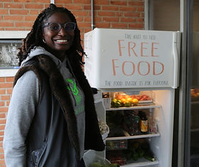'Take what you need, share what you can': Delaware's first community fridge opens in Wilmington