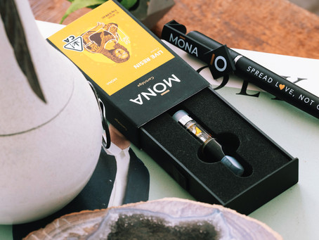 All About MONA Live Resin Cartridges
