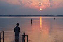 Fishing on Lake Hartwell