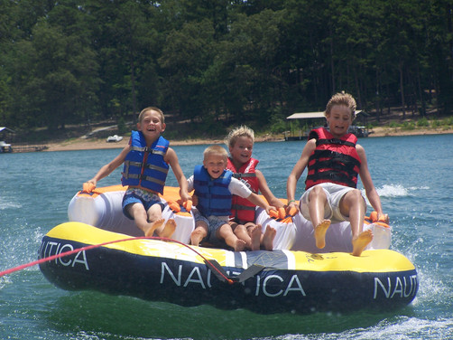 Tubing on Lake Hartwell