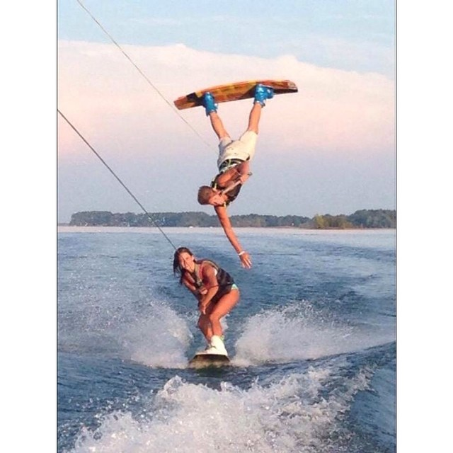 You don't want to miss the wakeboard exhibition on Friday as Wet and Wild Weekend kicks off! Photo c