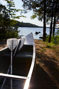 A great place to canoe