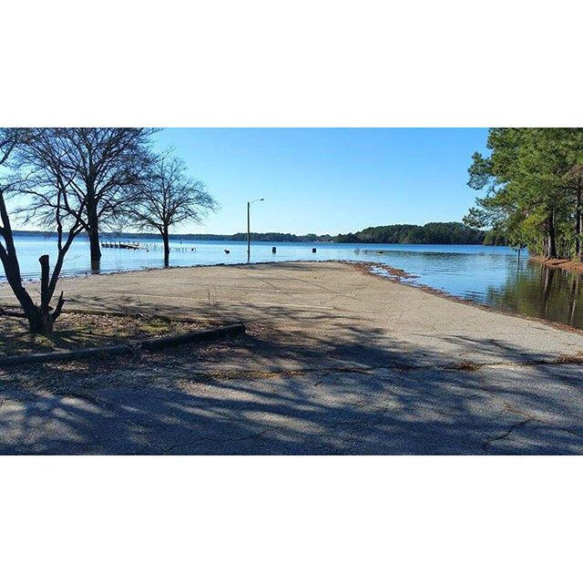 When we say that #lakehartwell is overflowing, we mean it! Thanks to Recreation Director Jim Owens f