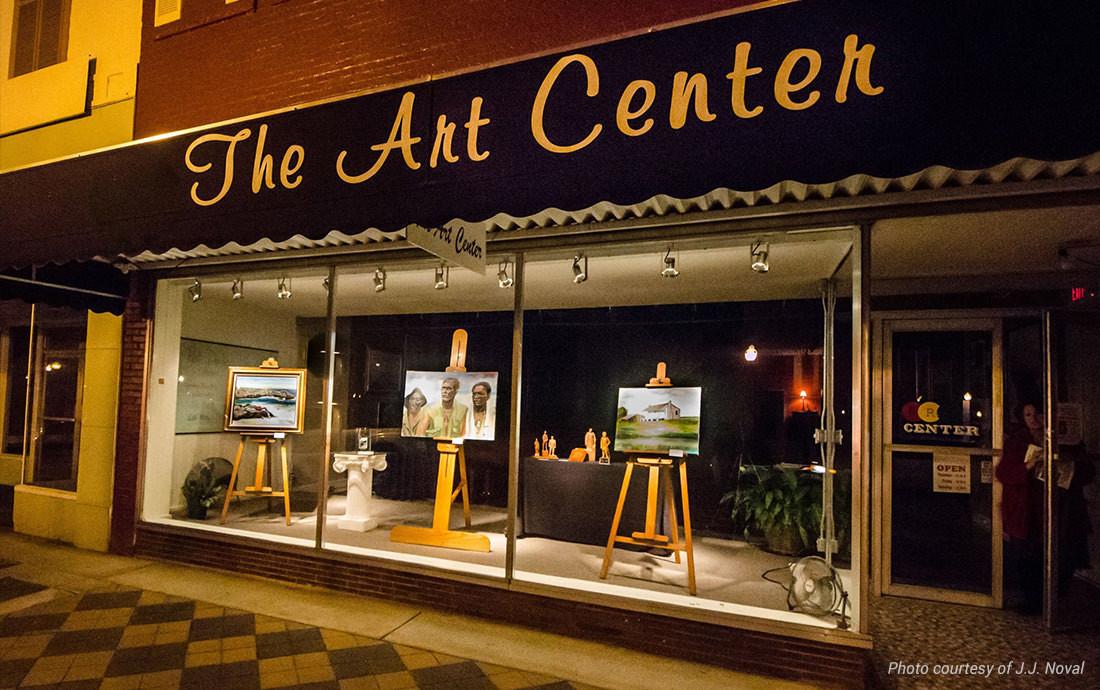 art center front