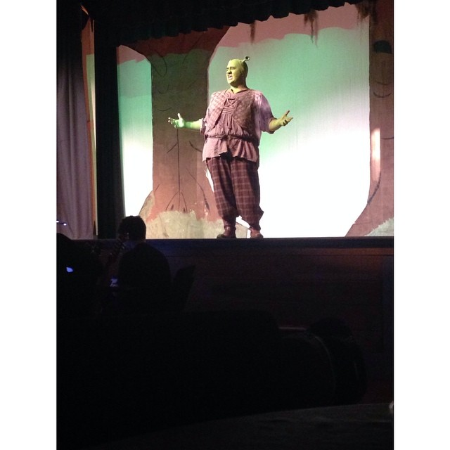 If you haven't seen Savannah River Productions 'Shrek' musical, you have one more opportunity tomorr