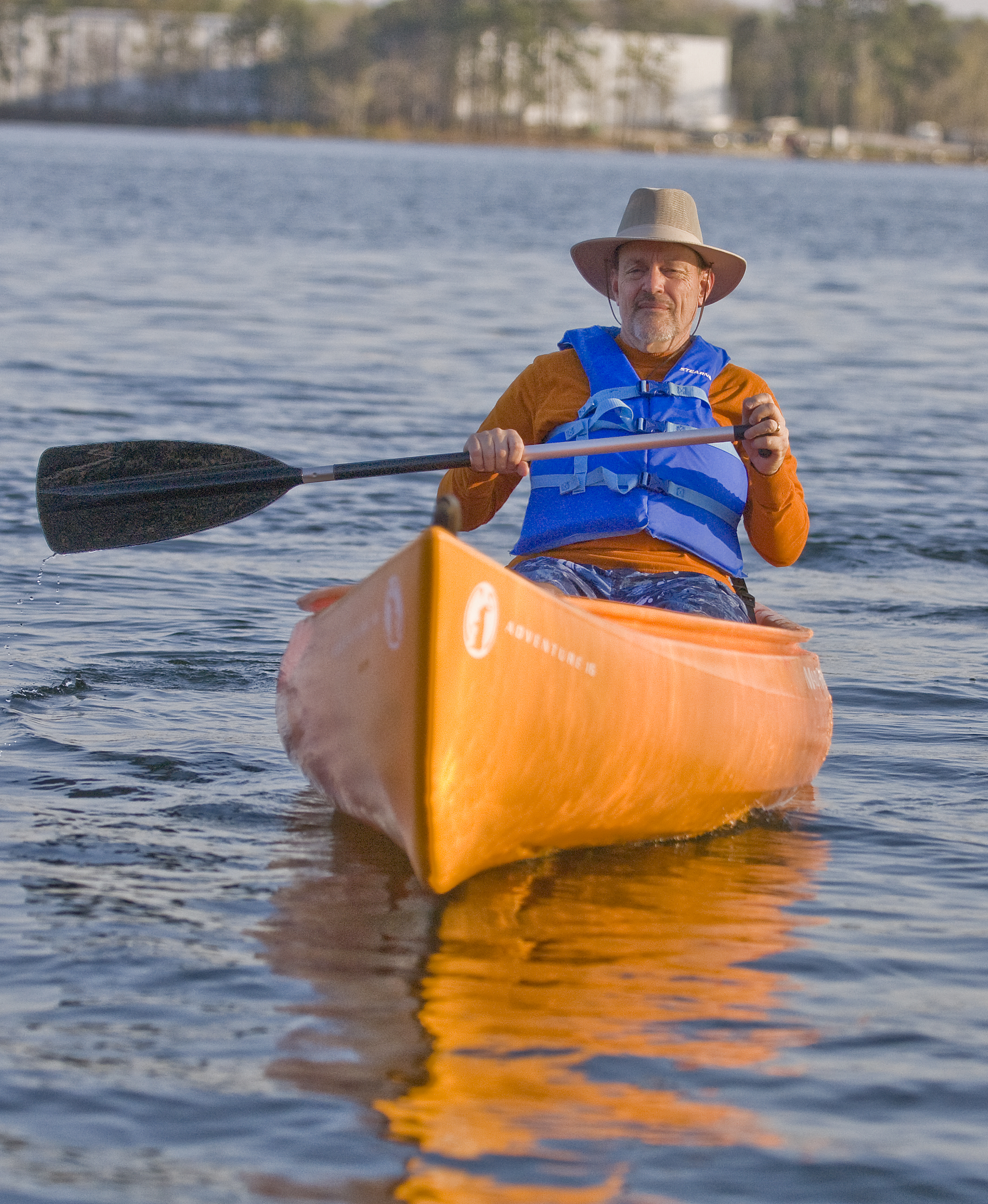 Bill Powell kayak