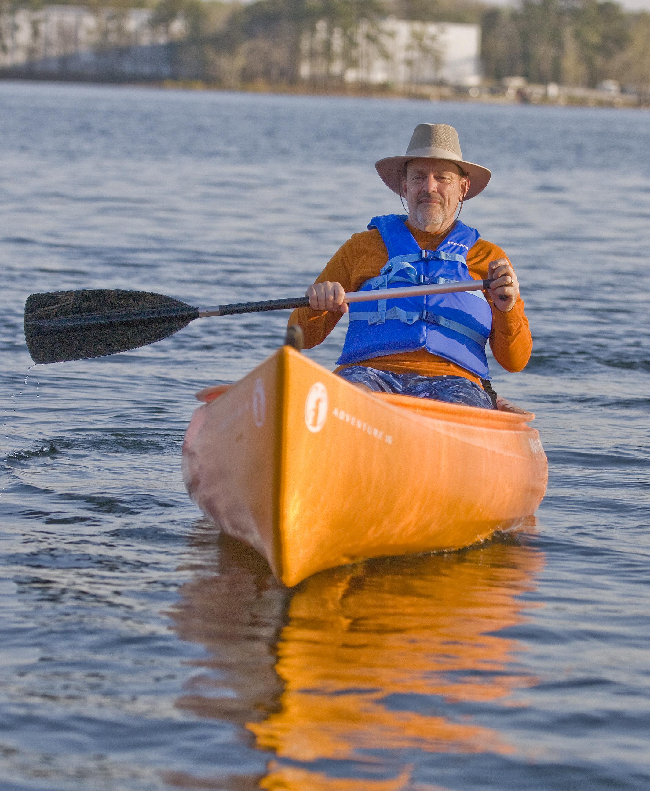Bill Powell kayak
