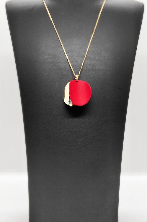 Gold-Kırmızı Kolye