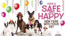 Tips For Keeping Your Pet Safe During New Years Eve