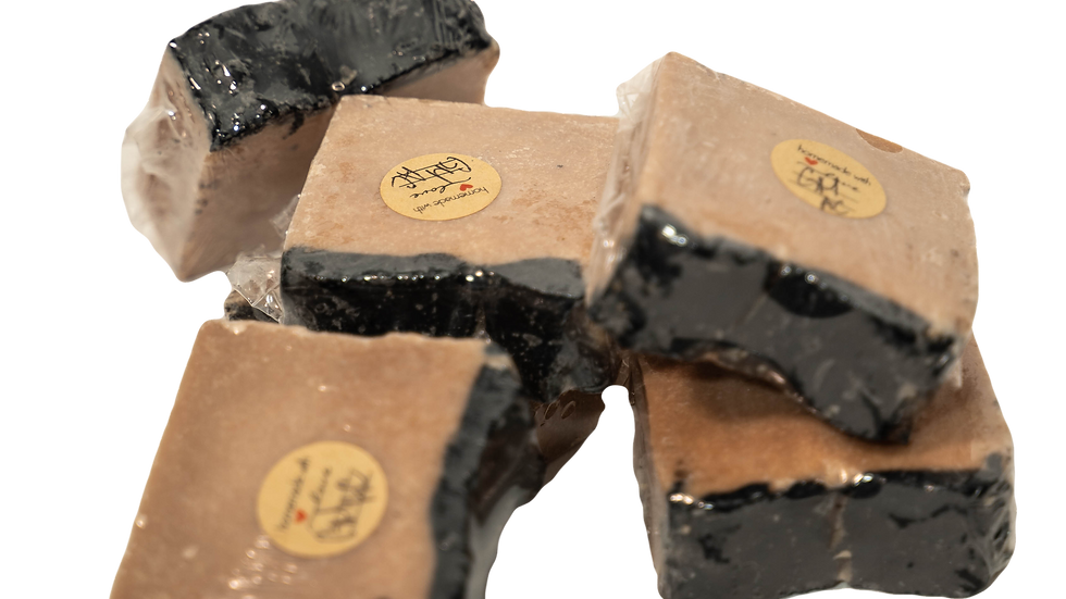 Raw & Rugged Activated Goat bar