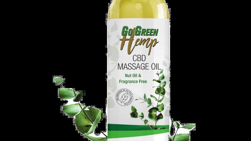 BeautiesByte Hemp CBD Massage Oil 250mg