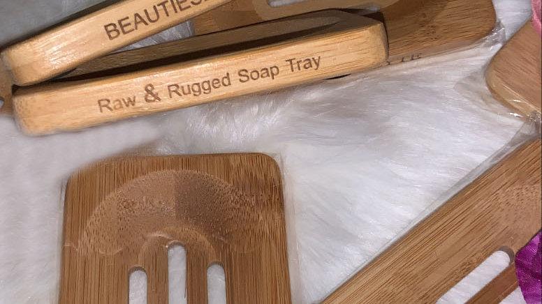 BeautiesByte Raw & Rugged soap tray