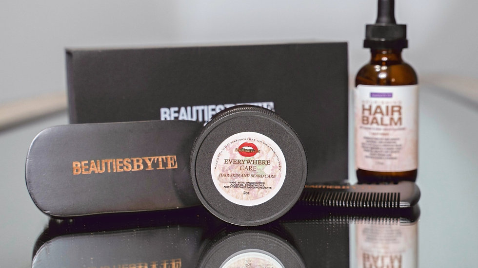 BeautiesByte Complete beard kit