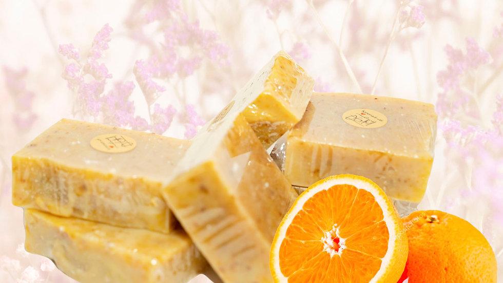 Raw & Rugged Orange Goats Milk Facial/ Body Bar