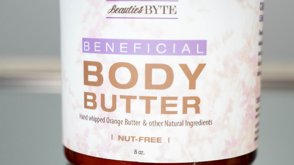 Beneficial Body Butter (Whipped Orange Butter Blend ) 8oz