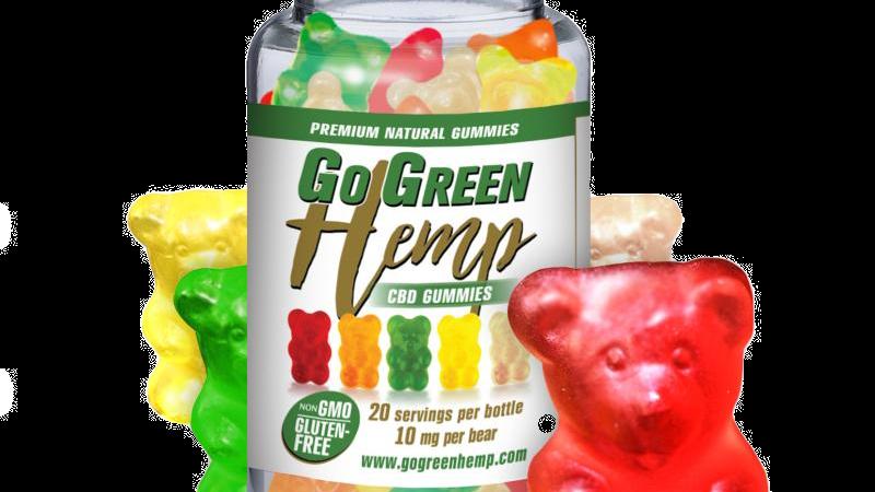 BeautiesByte Hemp CBD 10mg Gummy Bears