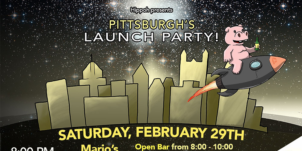Hippoh's Pittsburgh Launch Party (SOLD OUT)