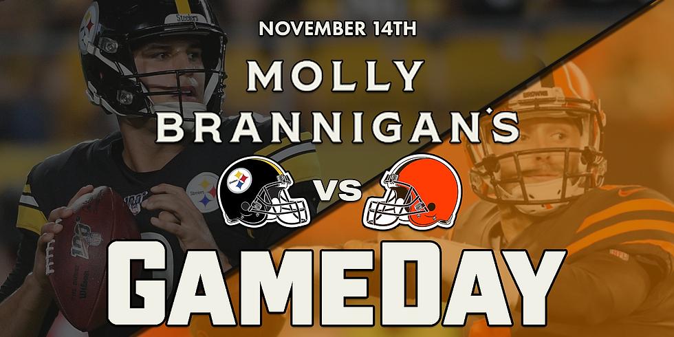 Browns vs Steelers Gameday