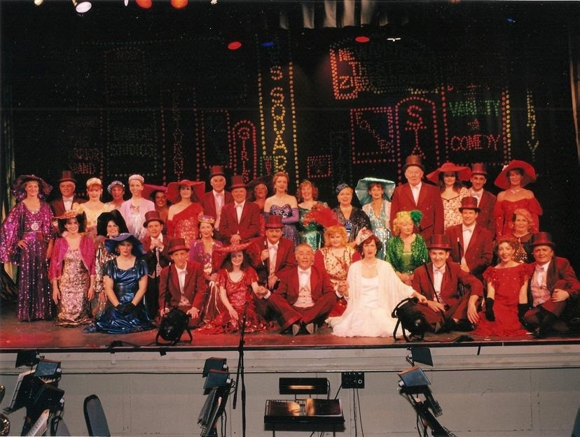 Largs Players Cast 42nd Street
