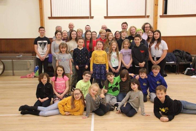 Largs Players Cast Peter Pan