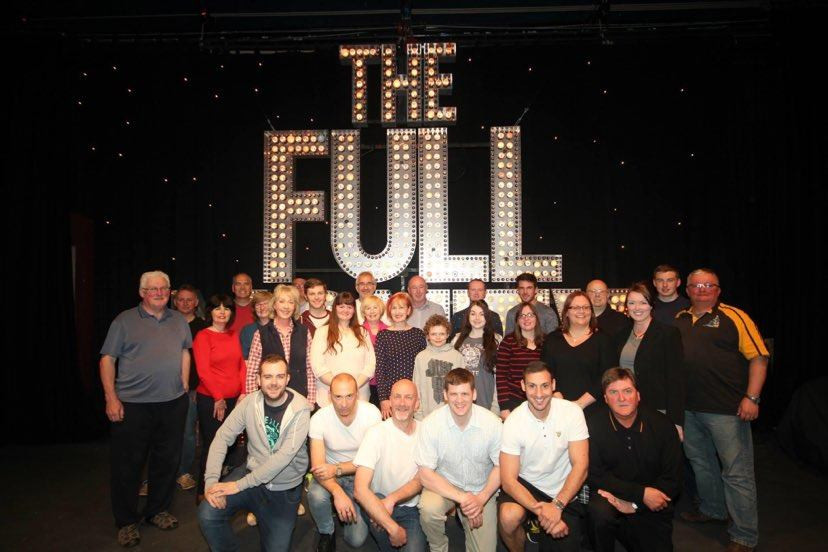 Largs Players Cast  The Full Monty