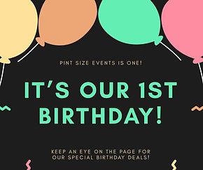 Pint Size Events parties Scotland