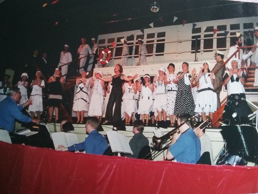 Largs Players Cast Anything Goes