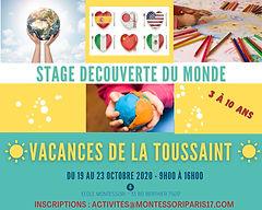 stage_vancances_tousaint_montessori_déc