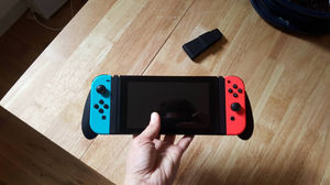 3d printed grip for the Nintendo Switch