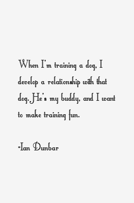 Dr. Ian Dunbar on Dog Training