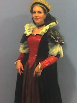 Trace as Elizabeth