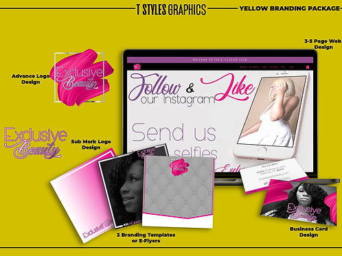 Yellow Branding Package $1,200
