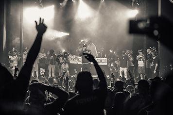 랩 음악 공연