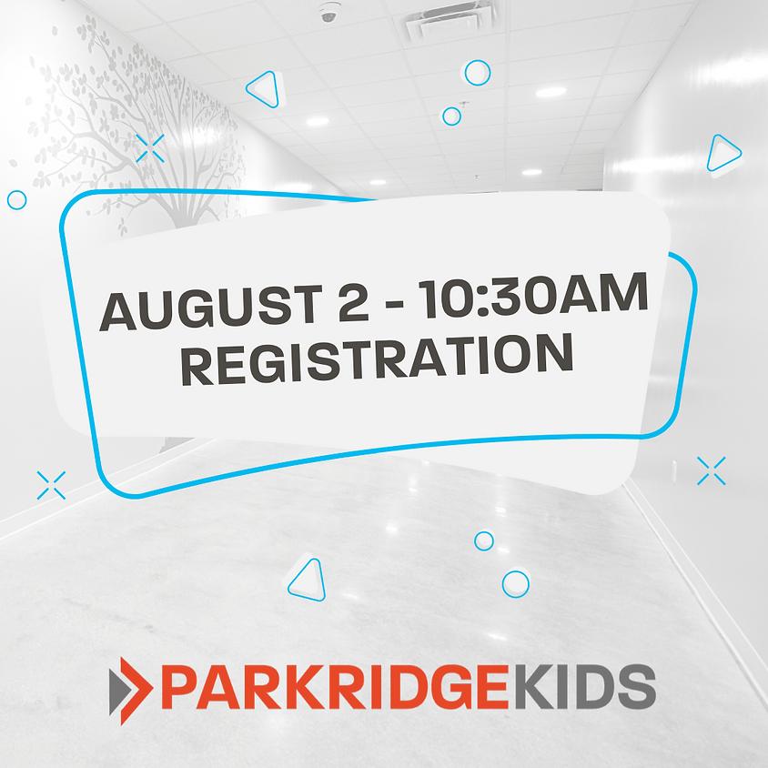 ParkridgeKids Class Registration - 10:30am