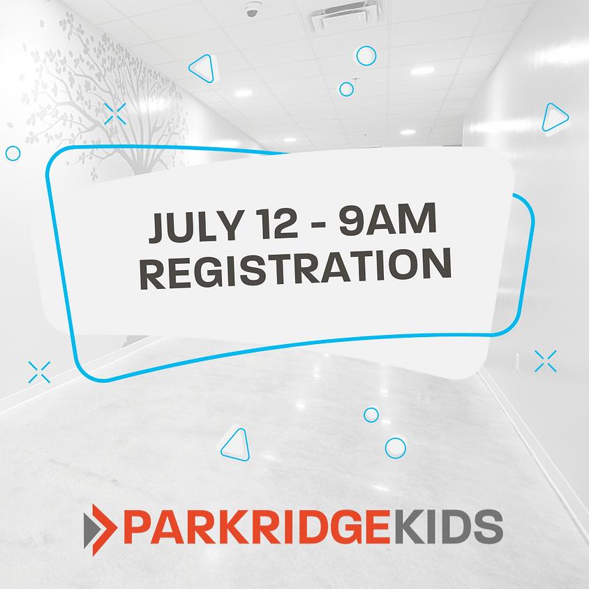 ParkridgeKids Class Registration - 9am